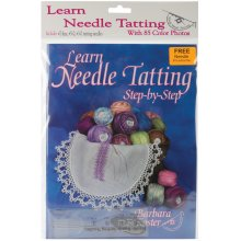 Handy Hands Learn To Tat Step-By-Step Kit-W/#7, #5-0, #3-0 Needles & Threader