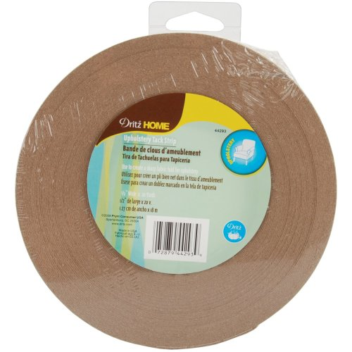 "Dritz Home Tack Strip Roll 1/2""X20yd-Natural"