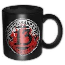 Black Sabbath 13 Flame Circle Mug Boxed