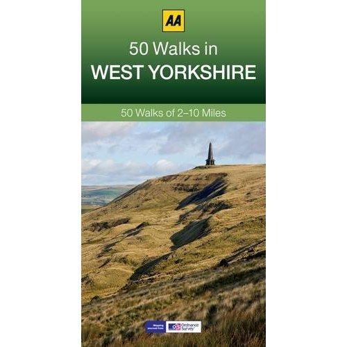 50 Walks in West Yorkshire (AA 50 Walks series)
