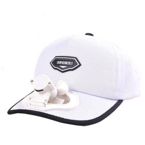 Summer Fan Hat with Fan Fishing Sun Visor Cap#C
