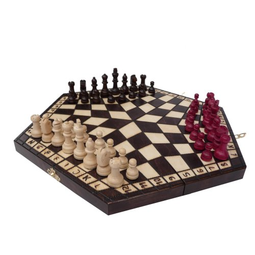 ChessEbook 3 PLAYER CHESS set 40 x 35 cm