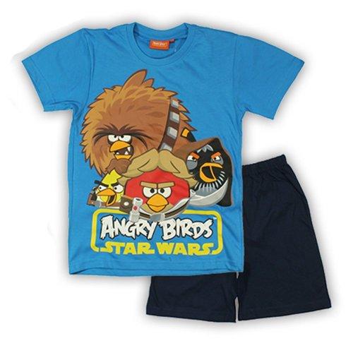 Angry Birds Star Wars Short Pyjamas - Blue