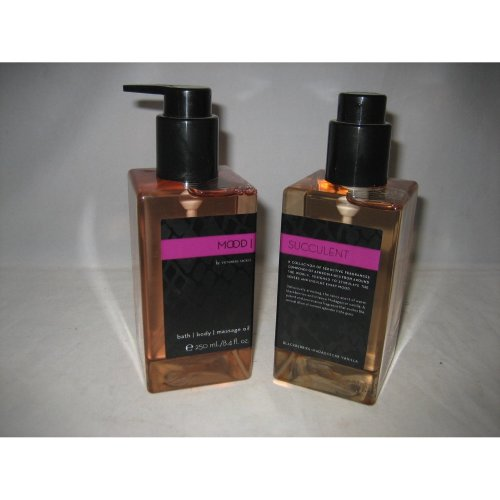 Victoria's Secret Mood Succulent Massage Oil - TWO Bottles! [Health and Beauty]