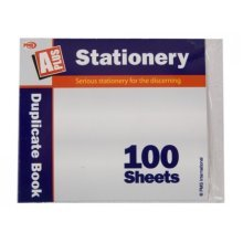 5.5 X4.25 100 Sheet Duplicate Book W/carbon Shrink Wrapped -  100 sheet duplicate book carbon shrink wrapped 552 x 42 inch