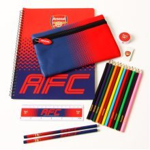 Arsenal Fade Ultimate Stationery Set - Official Fc Football Gift Fd Team School -  ultimate stationery set arsenal official fc football gift fd team