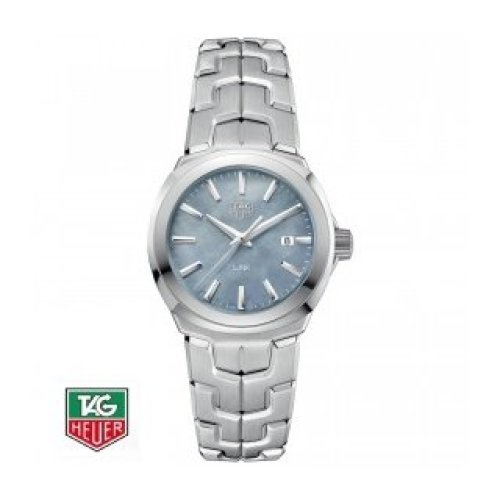 b8629e6fbe9 TAG HEUER LINK MOTHER-OF-PEARL QUARTZ STEEL WBC1311.BA0600 on OnBuy