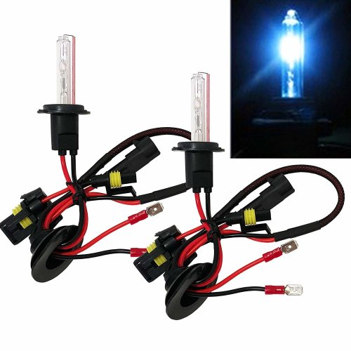 H7 HID Kit Blue 30000k Xenon HID Headlight Conversion Kit With Ballast Complete