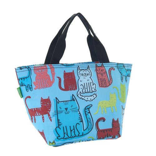 Funky Cat Expandable Lunch Cool Bag Holds 5kg