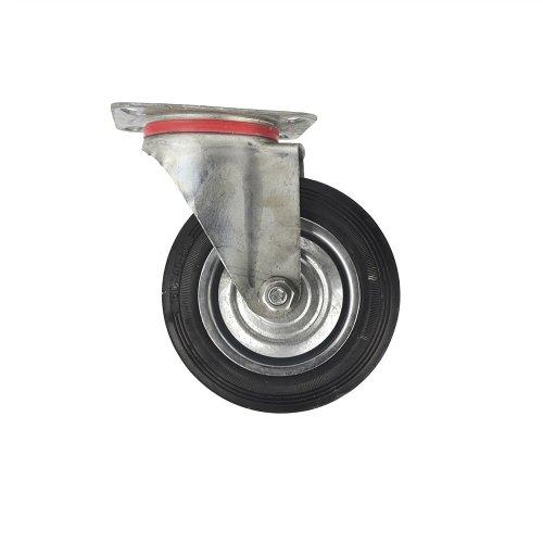 """6"""" Toolzone Swivel Castor - Trolley 6inch 150mm Heavy Duty Wheel Rubber Wheel -  swivel castor trolley 6inch 150mm heavy duty wheel rubber wheel cart"""