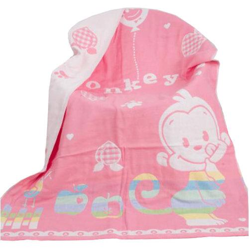 Kids towel Large Soft  bath towel 140*70cm, monkey