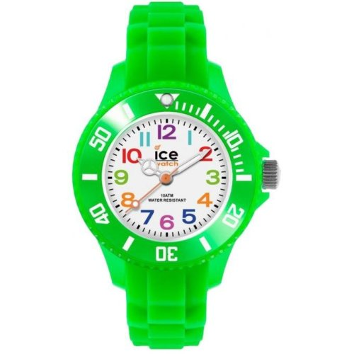 Ice Watch Ice-Mini MN.GN.M.S.12 Child Watch Silicone Fluorescent Green