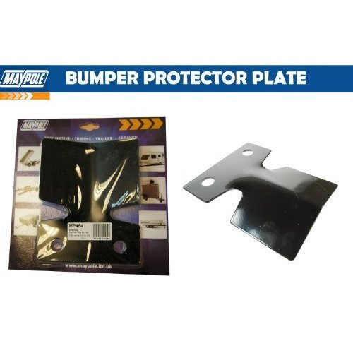 Black Towing Bumper Protector - Maypole 464 -  bumper protector black maypole 464