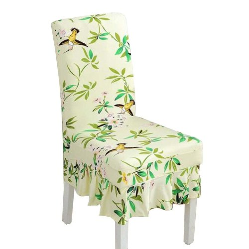 [Leaves-03] Stretch Dining Chair Slipcover Chair Cover Chair Protector