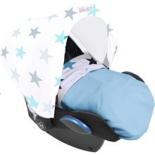 Dooky Blanket Baby Blue /Blue Stars