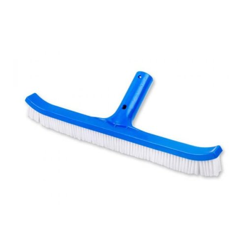 """Official 'Perfect Pools' 18"""" Plastic Swimming Pool Brush with Nylon Bristles"""