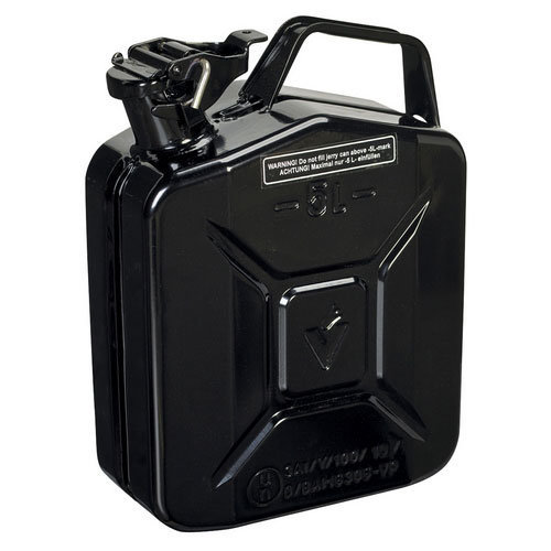 Sealey JC5MB 5ltr Jerry Can - Black