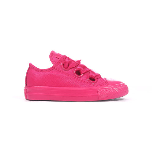 Converse Chuck Taylor All Star Big Eyelets Ox Infant Girls Trainer Pink
