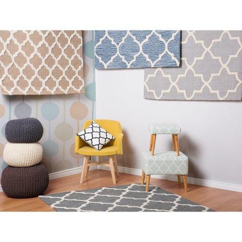 Rug - Carpet - Hand Tufted - Wool and Cotton -   - Beige - ERBAA
