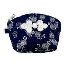Set of 2 Traditonal Chinese Embroidered Jewelry Coin Pouch Bag Wallet Purses   S