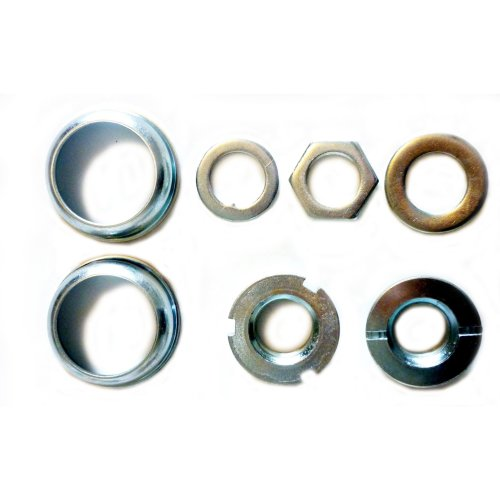 JUNIOR BMX or Mountain Bike BOTTOM BRACKET BEARING SET for 1 PIECE CRANKS