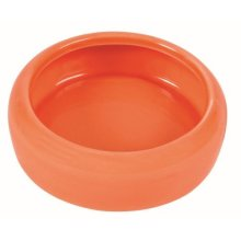 Trixie Ceramic Bowl With Rounded Rim For Guinea Pig, 200ml - Pig 200ml -  trixie ceramic bowl rounded rim guinea pig 200 ml