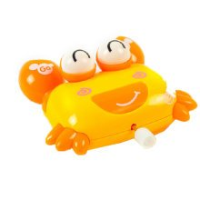 Set of 2 Lovely Animals Wind-up Toy for Baby/Toddler/kids, Crab(Color Random)