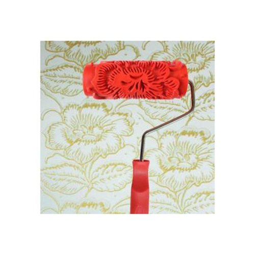 Classical Embossed Paint Roller Wall Painting Runner Wall DIY Tool, Pattern 08
