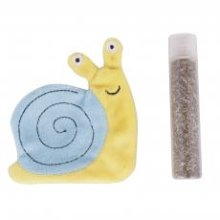 Ministry Of Pets Sam The Snail Catnip Toy With Catnip Tube (Pack of 12)
