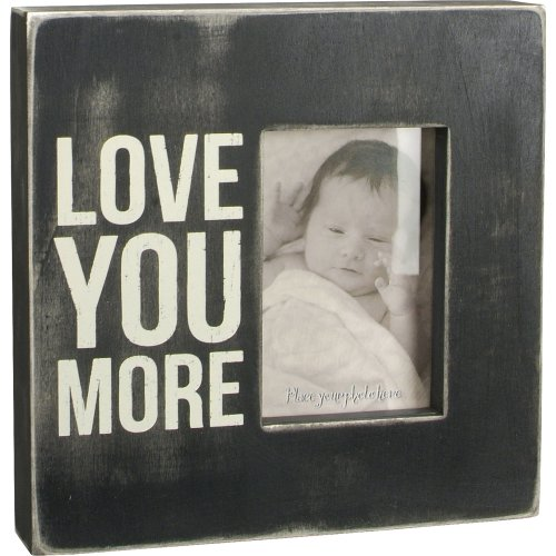 Primitives Box Sign - Love You More Frame