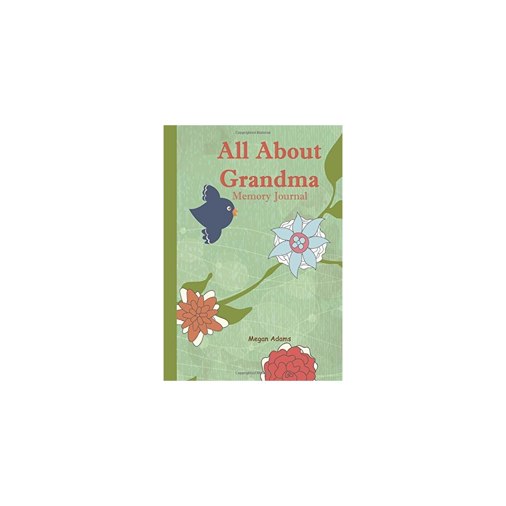 Prompted Journal for Grandma All About Grandma Memory Journal: I didnt know that about you
