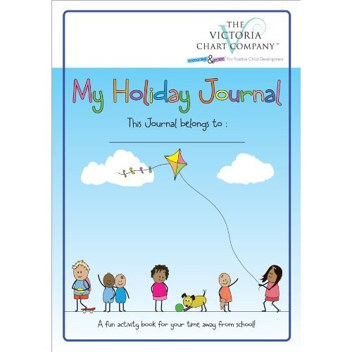 My Holiday Journal (4yrs up) - Lightweight Children's Travel Journal Diary to Document Memories. Encourages Writing, Drawing, Collecting and...