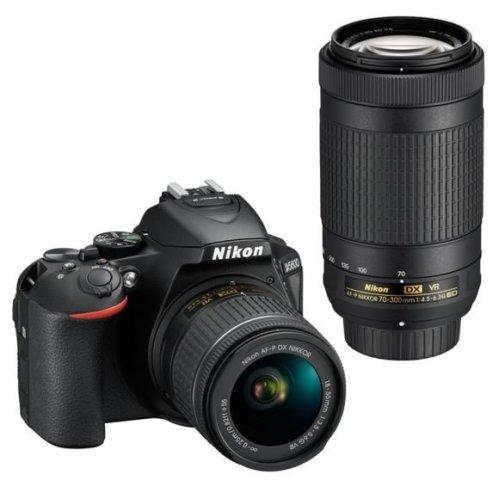 NIKON D5600 +AF-P 18-55MM F3.5-5.6G VR+AF-P 70-300MM F4.5-6.3 ED VR DX