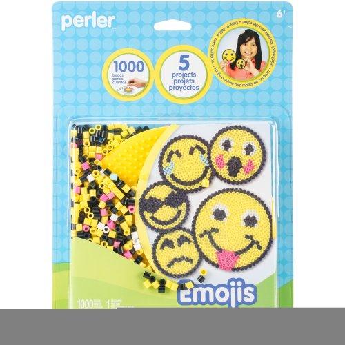 Perler Fused Bead Kit-Emoji