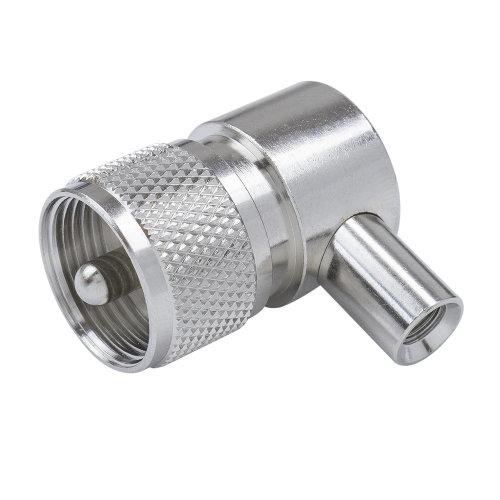 Plug socket PL259 with output at 90grade Albrecht NC 577/2 Code 5260