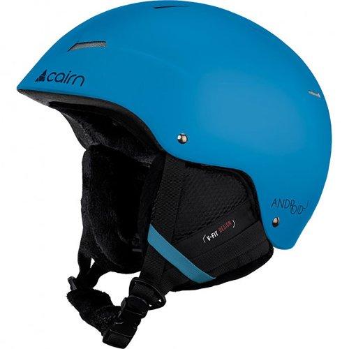 Cairn Android J Matt Azure Adult Snow Sport Helmet Unisex Ski Kid Junior 54/56cm