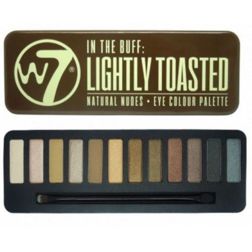 W7 In the Buff, Lightly Toasted EyeShadow Palette