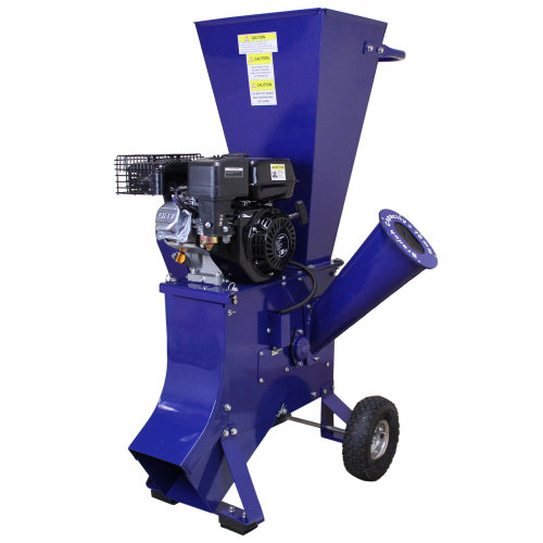 T-Mech 6.5HP Wood Chipper Petrol Garden Timber Shredder