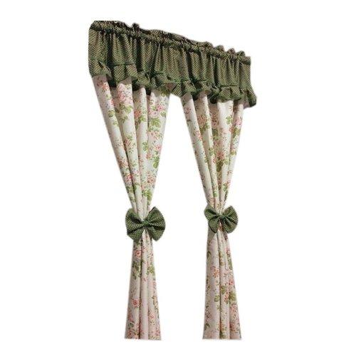 Lovely Curtain/Cafe Curtain Window Valance, Green(120*120 cm)