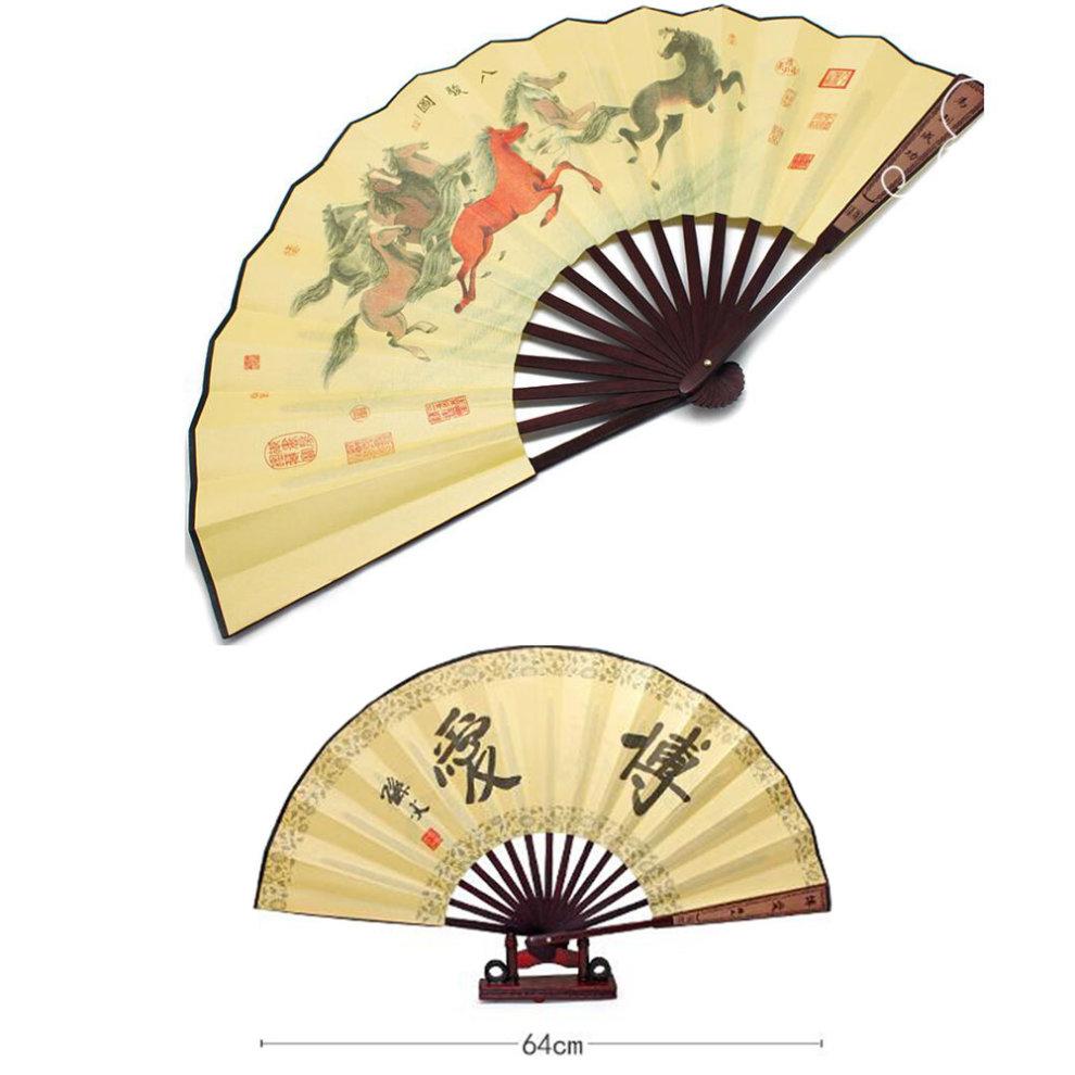 Oriental Style Folding Fan Hand Fan Handfan Handheld Fan Perfect ...