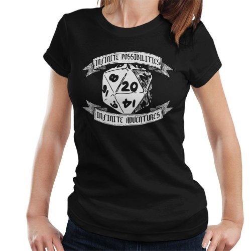 Infinite Possibilities Dungeons And Dragons Women's T-Shirt