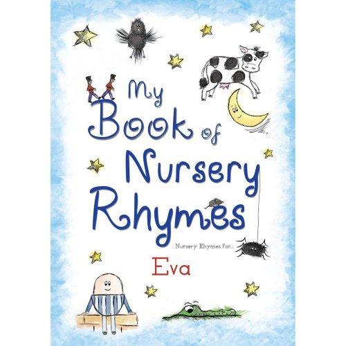 Personalised Children's Book ' My Book Of Nursery Rhymes'