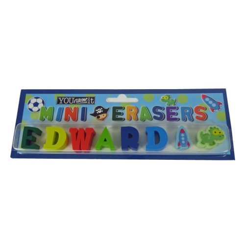 Childrens Mini Erasers - Edward