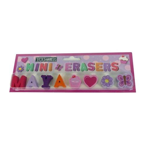 Childrens Mini Erasers - Maya