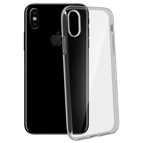 purchase cheap f4f58 4e53d Ultra-clear case, 0,3mm second skin case for Apple iPhone X – Transparent