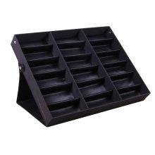Eyeglasses Display Tray Sunglasses Holder Storage Case – 18 Compartments-A2