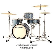 Ludwig Breakbeats Questlove Drum Kit, Light Blue Sparkle