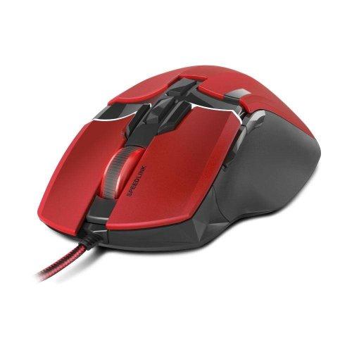 Speedlink Kudos Z-9 8200dpi Laser Gaming Mouse USB Red/Black