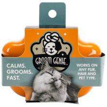 """Multipet Cat Groom Genie 4""""-Orange"""
