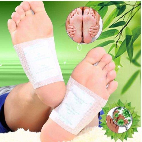 100 pcs Detox Foot Patches, Finlon Detox Foot Pads Foot Detox Pads Foot Pads Detox Patches Body Detox Body Cleanse Patches Cleansing Detox Foot...
